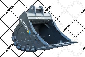 Grubber, Rock/slope bucket for excavators JCB, Doosan and